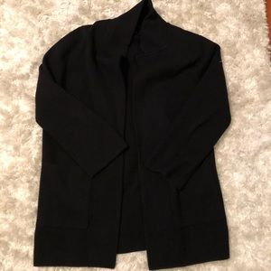 Jcrew black sweater blazer